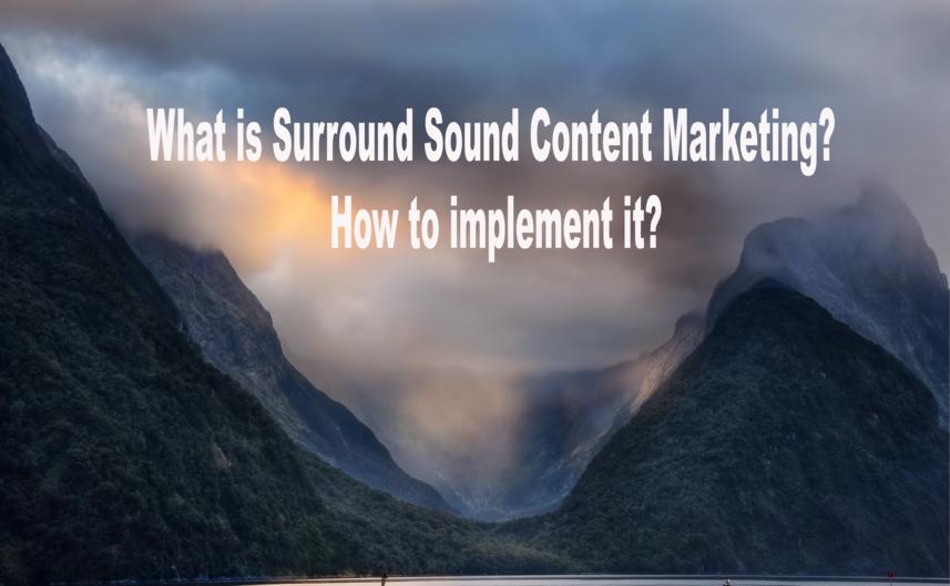 surround sound marketing
